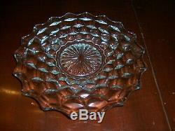 Vnt American Fostoria 10 Round Cake Plate StandSalver RumWell 8 Plates