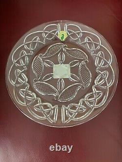 Waterford Crystal 2005 Waterford Society Liam's Knot 8 Plates New