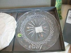 Waterford Crystal Accent Plates-set Of 2-colleen Pattern Nib