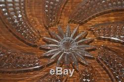 Waterford Crystal Arcade 8 Inch Platter Cake Plate Broken 129279