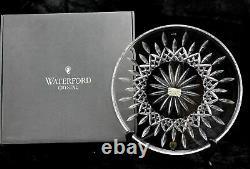 Waterford Crystal Lismore 12 Cake Plate Platter GERMANY 996.987.6400