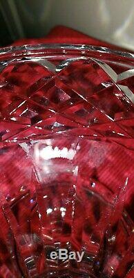Waterford Crystal Lismore Footed Pedestal Cake Plate 11 marked waterford