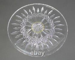 Waterford Crystal Lismore Footed Pedestal Cake Plate Stand Server 11