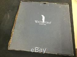 Waterford Crystal Lismore Glass 12 Flat Cake Plate Platter Brand New