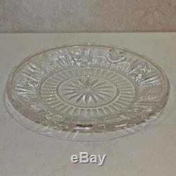 Waterford Crystal Millennium 8' Luncheon Plate NO BOX lot of 4