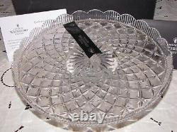 Waterford Lace Footed Cake Plate, Limited Edition #20/150 John Connolly Designer