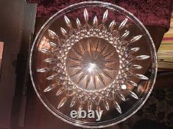 Waterford Lismore Cake Plate 12 Round Platter Tray NIB