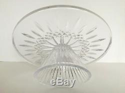 Waterford Lismore Cake Plate Footed 11 Brand New In Box Msrp $235.00