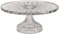Waterford Lismore Cake Plate, clear
