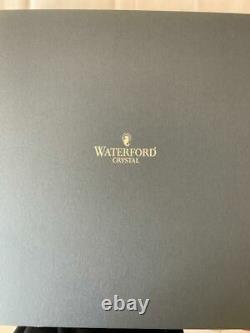 Waterford Lismore Essence 14.5 inch Crystal Cake Platter / Tray NIB MSRP $250.00
