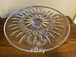 Waterford Lismore Footed Cake Plate, Waterford Cake Stand, Crystal Cake Stand