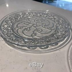 Waterford Society 2002 Celtic Spiral Knot, Signed, 8 Accent Plates-Set of Two