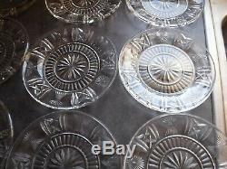 Waterford millennium series 8'' accent plate 12 total nice