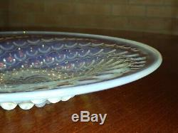 Wonderful Rene Lalique Volutes Coupe Plate 25.6cm c1934 pristine condition